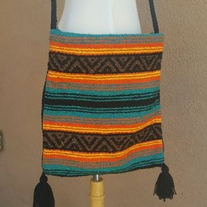Handbags - Bohemian Crossbody textile Bag